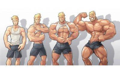 3 главных правила набора мышечной массы